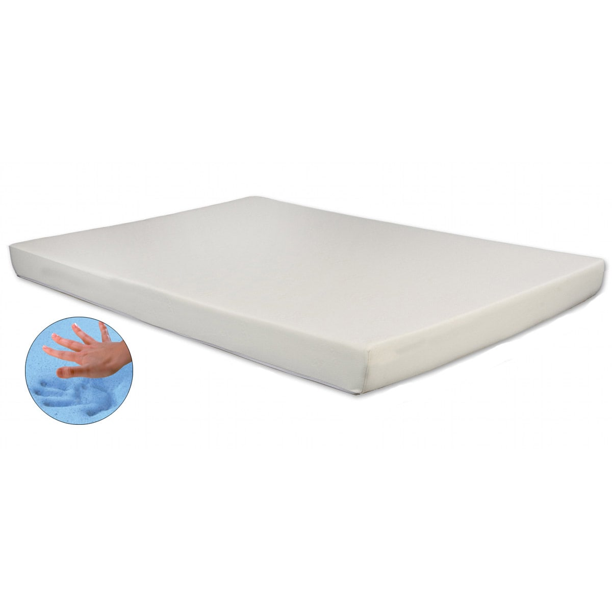 Gel Infused Memory Foam 4.75-inch RV Mattress