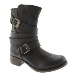 Women's Steve Madden Brewzer Black Leather