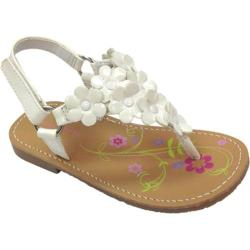 Girls' Laura Ashley LA14931E White Patent