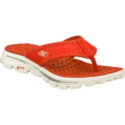 Women's Skechers GOwalk Move Beach Bum Red