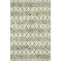 Hand-tufted Echo Ivory Wool Rug (7'6 x 9'6)