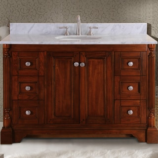 Virtu USA Megan 48-inch Single Sink Bathroom Vanity Set