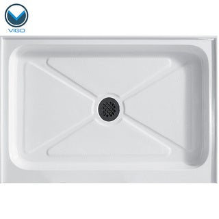 Vigo White Rectangular Shower Tray (48x32)