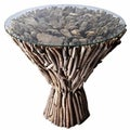 Natural Drfitwood Cone Table