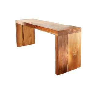 Solid Teak Wood Bench