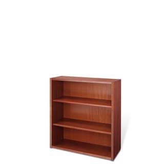 Jesper Office 40-inch Cherry Wood Bookcase