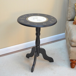 Winston Clock Face Accent Table