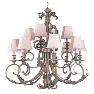 Royal Florentine Bronze Chandelier