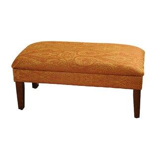 Golden Honey Blonde Storage Bench