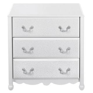 Altra White Three Drawer Dresser