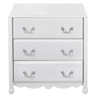 Ameriwood White Three Drawer Dresser