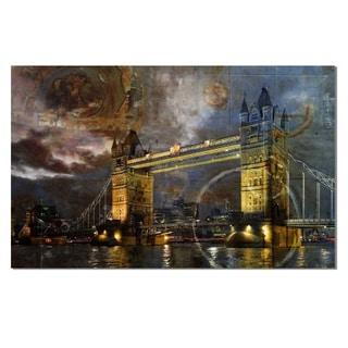 Ready2HangArt 'London Bridge' Gallery-wrapped Canvas Art