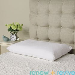 Renew and Revive Leigh Aerated Memory Foam Queen-size Pillow