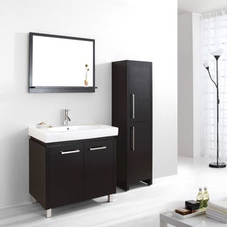 Virtu USA Harmen 32-inch Single Sink Bathroom Vanity Set