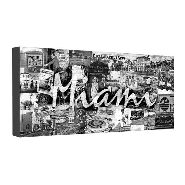 Alex Bueno 'Vintage Miami' Canvas Wall Art