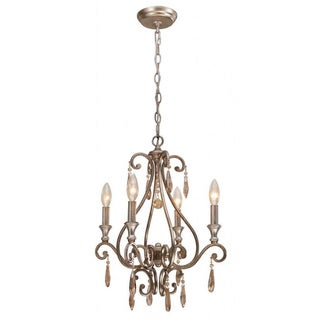 Shelby 4-light Distressed Twilight Mini Chandelier