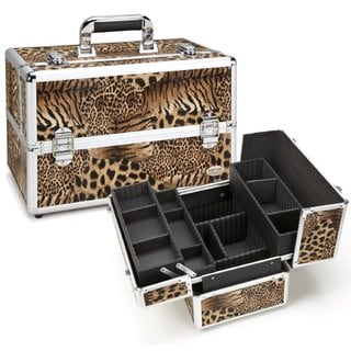 Seya Tiger Leopard Professional Makeup Case
