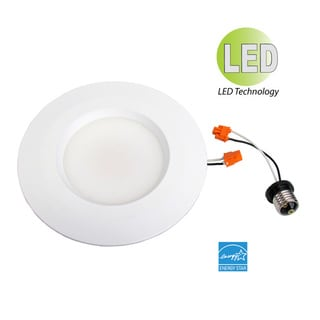 HomeSelects eLIGHT 11-watt LED 6-inch Recessed Retrofit Light