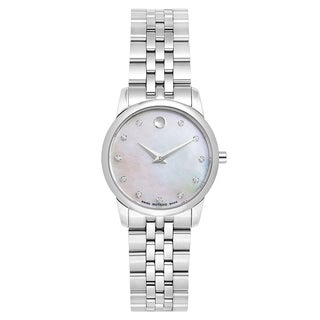 Movado Women's 'Museum Classic' Diamond-accented watch