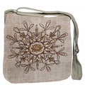 Hemp and Cotton Mix Messenger Bag (Nepal)