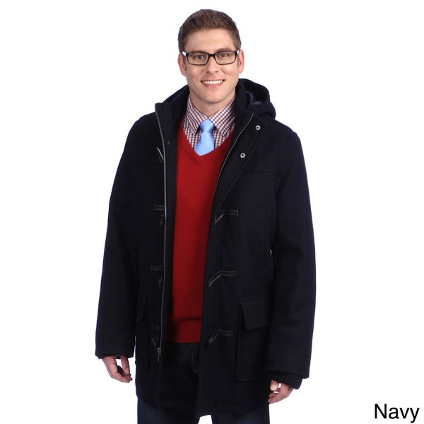 Tommy Hilfiger Men's Hooded Toggle Coat