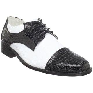 Funtasma Men's 'Disco-18' Two-tone Oxford Disco Shoes