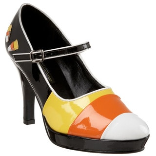 Funtasma Women's 'Contessa-55' Candy Corn Patent Faux Leather Heels