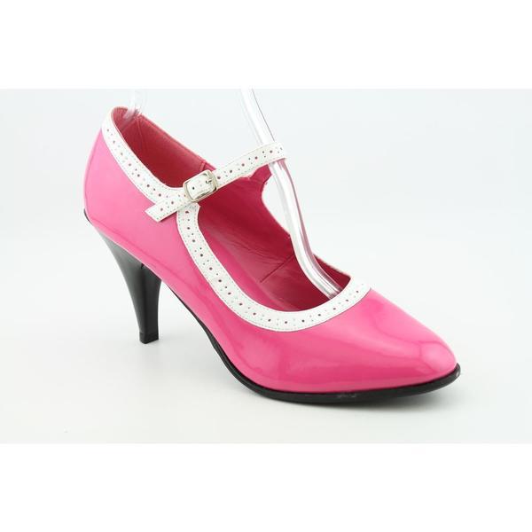 Demonia 'BETTY-01' Women's Trim Mary Jane Patent Shoes