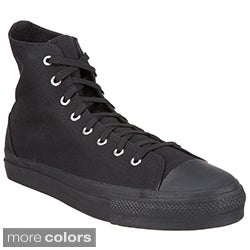 Demonia Men's 'Deviant-101' Black High-top Sneakers