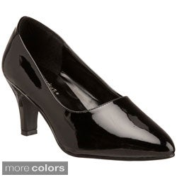 Pleaser Women's 'Divine-420W' Block Heel Pumps