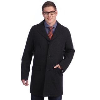 Tommy Hilfiger Men's Wool Blend Twill Peacoat