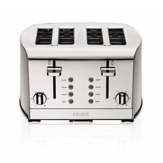 Krups Stainless Steel 4-slice Breakfast Toaster