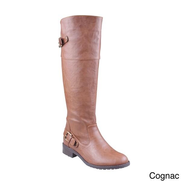 Refresh 'ALMA-08' Women's Knee-high Riding Boots