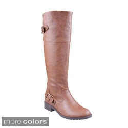 Refresh 'ALMA-08' Women's Knee-high Riding Boots
