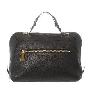 Chloe 'Brooke' Medium Black Grained Leather Handbag