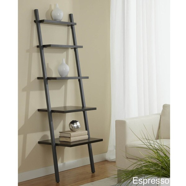 Jesper Office 22-inch Tiered Ladder Bookcase