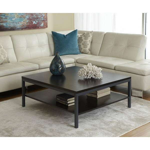 Jesper Office Square Modern 1-shelf Coffee Table