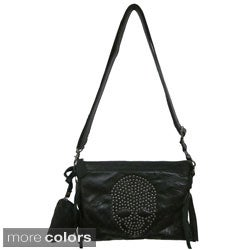 Amerileather 'Sheena' Clutch Shoulder Bag