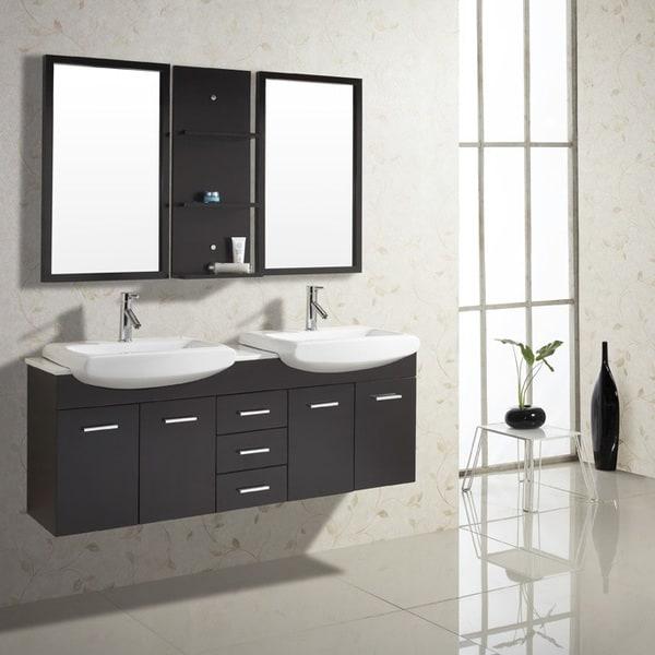 Virtu Usa Ophelia Nine Inch Single Sink Bathroom Vanity Set Free Shipping Today Overstock Com