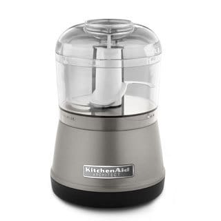 KitchenAid RKFC3511CS Cocoa Silver 3.5-cup Architect Processor (Refurbished)