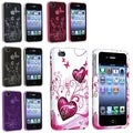 BasAcc TPU Rubber Skin Case/ Protector Case for Apple iPhone 4/ 4S