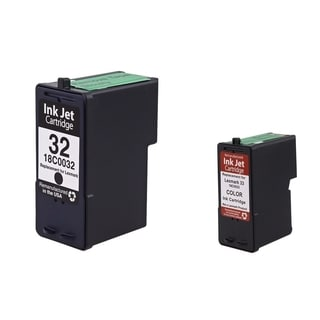 BasAcc Black/ Color Remanufactured Ink Cartridge for Lexmark P Series