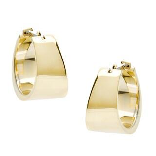 Calvin Klein Gold PVD-coated Steel Hoop Earrings