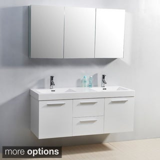 Virtu USA Midori 54-inch Double Sink Vanity Set