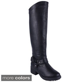 Anna Women's 'NB200-48' Knee-high Riding Boots