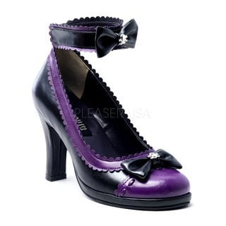 Demonia 'GLAM-40' Heel Mini Platform Pumps