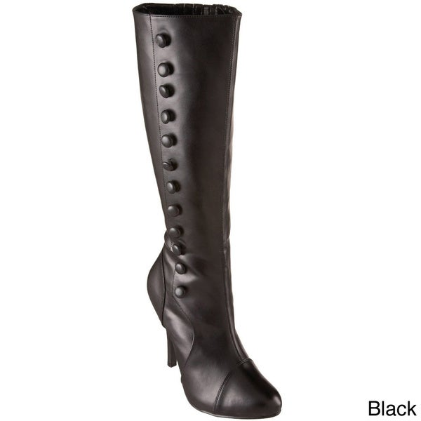 Funtasma Women's 'Arena-208' Knee-high Side Button Boots