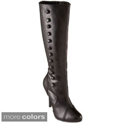 Funtasma Women's 'Arena-208' Knee-high Side Button Boots