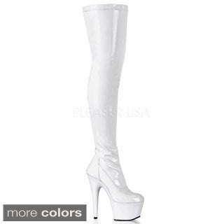 Pleaser Women's 'Adore-3000' Stretch Thigh-high Boots