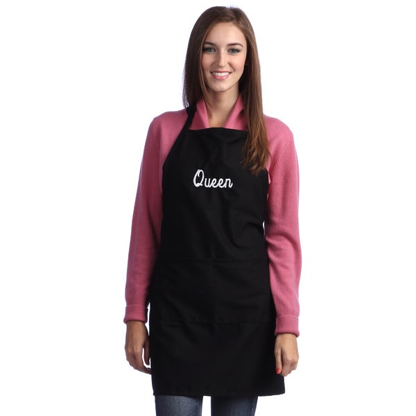 Monogrammed Queen or King Apron